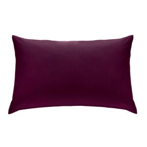 Percale Plum Housewife Pillowcases
