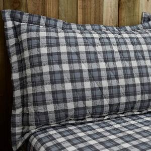 Jack Charcoal Pillowshams 50x75cm