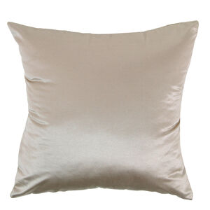 Braided Faux Silk Cushion 58x58cm - Gold