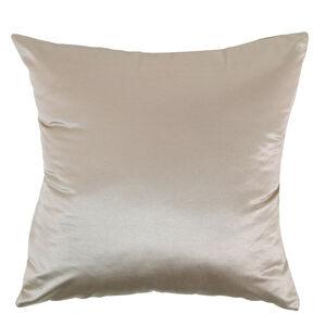 Braided Faux Silk Gold Cushion 58cm x 58cm
