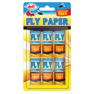 Fly Catcher Paper 6 Pack