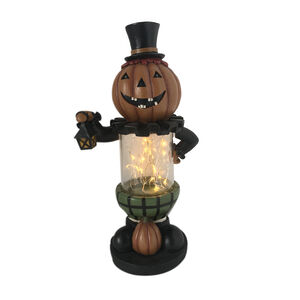 Halloween Light up Pumpkin 12""