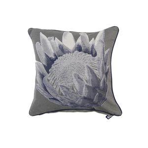 Alexa Flower Cushion Cover 45x45cm - Navy