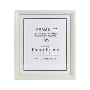 Cream Photo Frame 8x10""