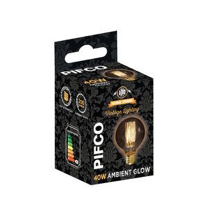 Pifco Vintage 40W Bulb (G80 ES)