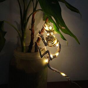 Halloween Lightup Skeleton Mouse
