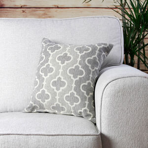 Mairead Trellis Natural Cushion 45cm x 45cm