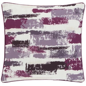 Painterly Cushion 45x45cm - Cerise