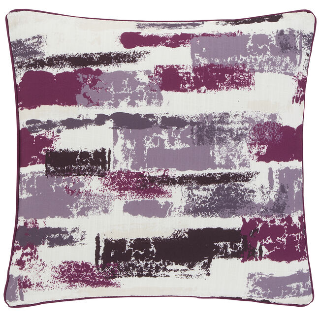 Painterly Cushion 45x45cm - Cerise