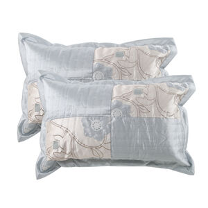 Alicia Duck Egg Pillowshams 50x75cm