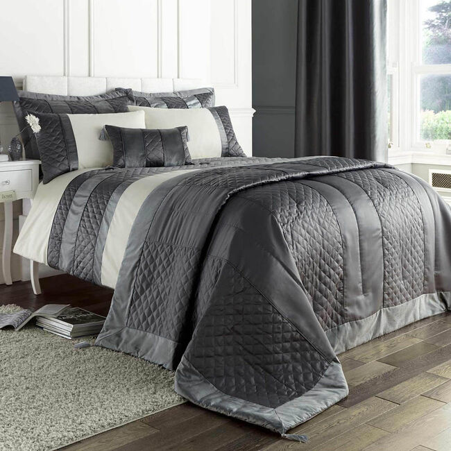 Classic Velvet Charcoal Pillowshams