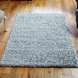 ELSA SHAGGY PLAIN 120x170cm Grey/White