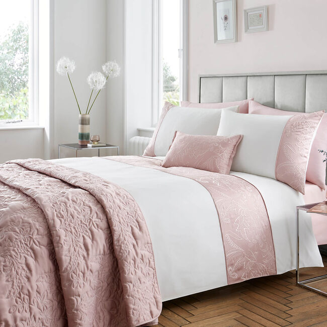 DOUBLE DUVET COVER Olivia Marie Blush