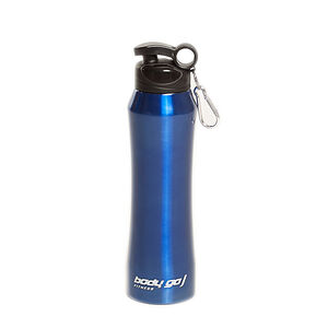 Bodygo Fitness Blue Stainless Steel Bottle 600ml