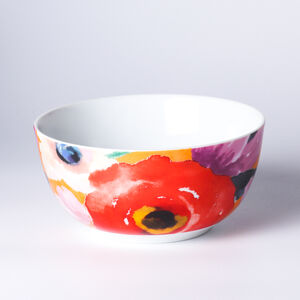 Atelier 75 Orange Flower Cereal Bowl