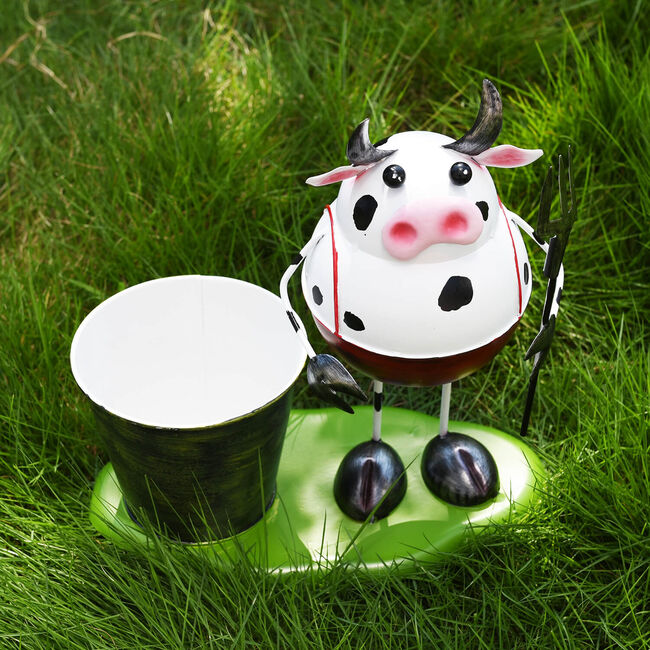 Cow Decoration Plant Pot