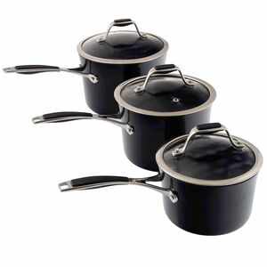 Cucino Onyx 3 Piece Cookware Set