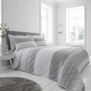 Fiadh Bedspread 200x220cm - Grey