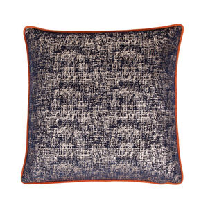 Elodie Cushion 45 x 45cm - Navy