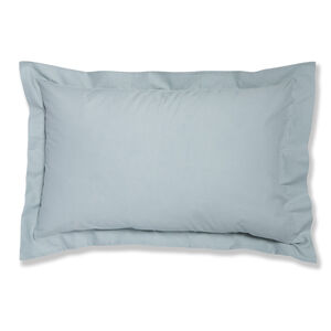 Luxury Percale Duck Egg Oxford Pillowcase Pair