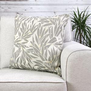 Ruth Floral Silver Cushion 45cm x 45cm