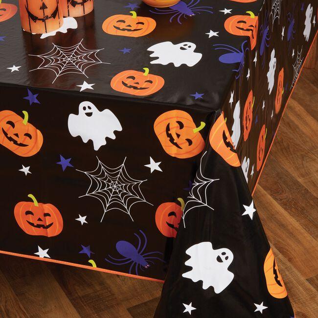 Spooky Fun PVC Table Cloth 160x230cm