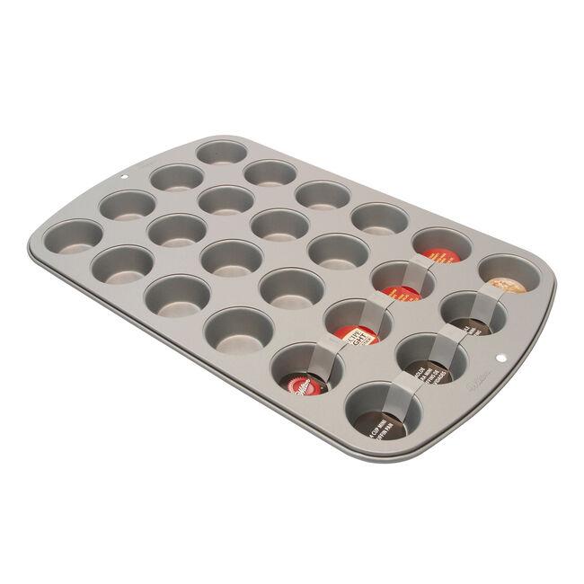 Recipe Right Mini Muffin Pan 24 Cup