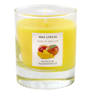 Mango & Passionfruit Glass Jar Candle