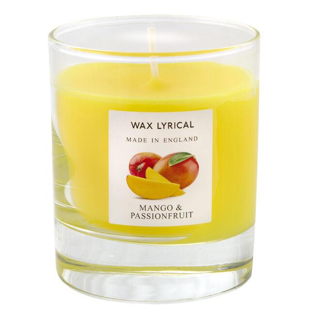 Mango & Passionfruit Glass Jar Candle