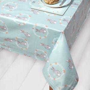 Rabbits PVC Table Cloth 160x230cm