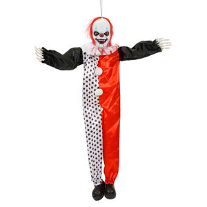Lightup Hanging Clown with Kicking Legs