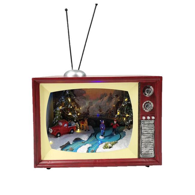 Christmas Led Moving TV Scene