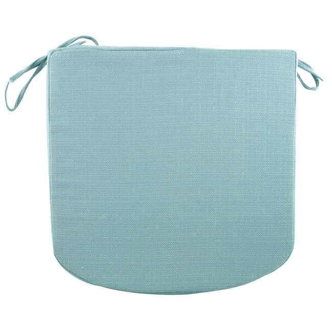 Woven Duck Egg Kitchen Seat Pad