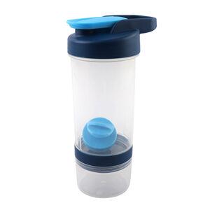 BodyGo Tritan Protein Shaker Bottle 590ml - Blue