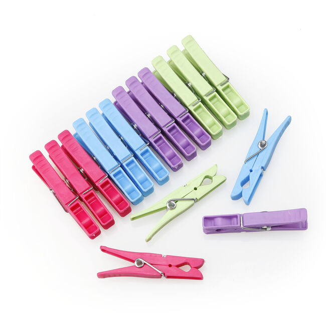 Ezy Storage In My Home 100 Plastic Pegs