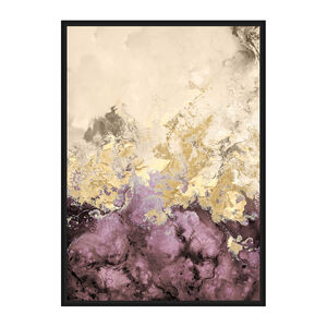 Blush Gold Print Framed Foil Finish