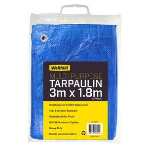 Multi-Purpose Tarpaulin 3m x 1.8m