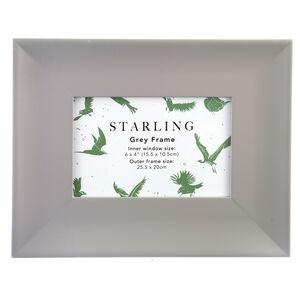 Starling Grey Frame 4x6