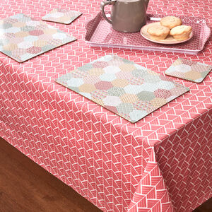 Kaleidoscope Placemats & Coasters 4 Pack