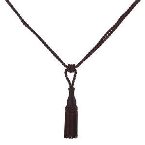 Elegance Small Rope Aubergine Tieback