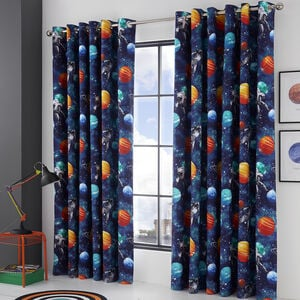 Blackout & Thermal Space Travel Curtains - Multi