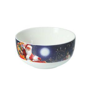 Santa and Sleigh Bowl