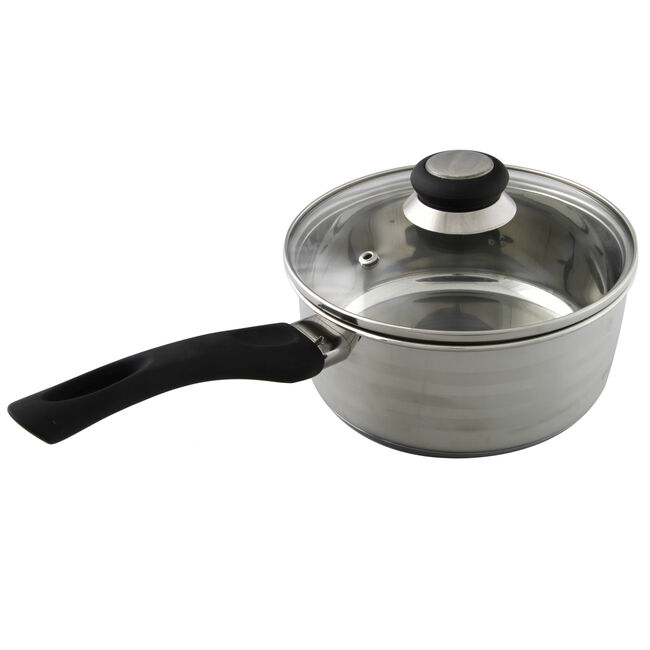 Cuisine Saucepan with Lid 18cm