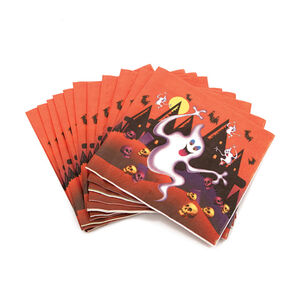 Ghostly Napkins 12 Pack