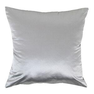 Braided Faux Silk Cushion 58x58cm - Duck Egg