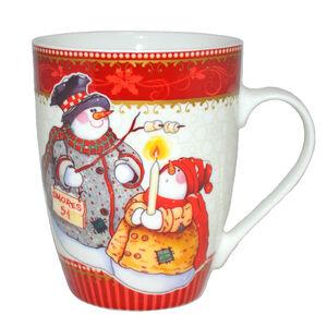 Love Christmas Snowmen Mug