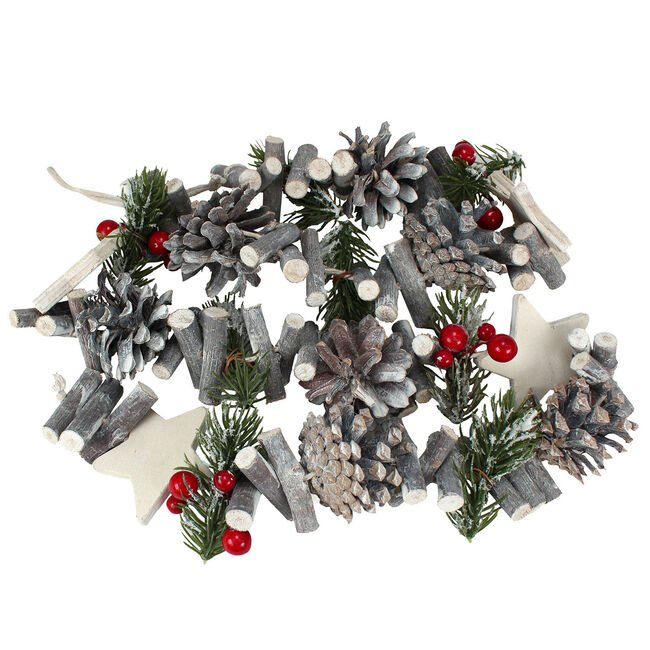 Traditional Christmas Star Garland