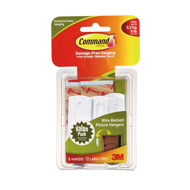Command Picture Hanging 6Pk Hook Value Pack