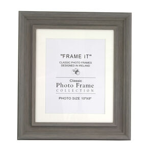Slate Grey Photo Frame 8x10""