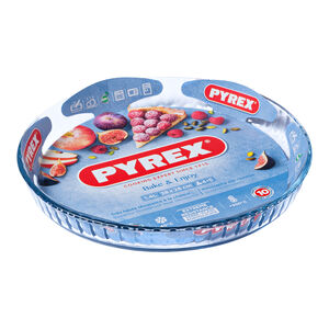 Pyrex Classic Shallow Fluted Flan Dish